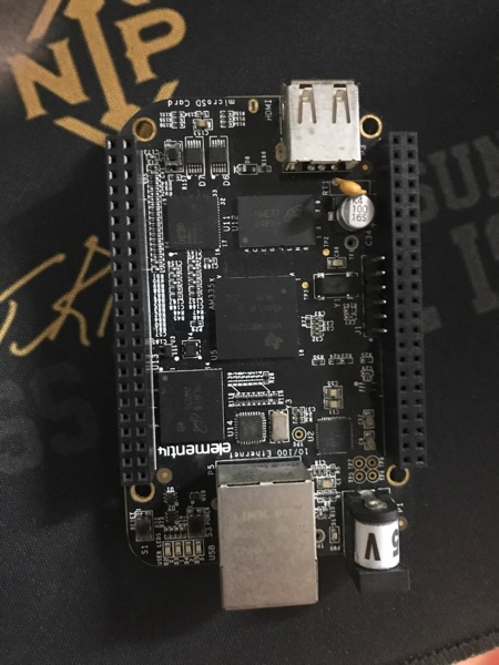 Mạch BeagleBone Black Rev C