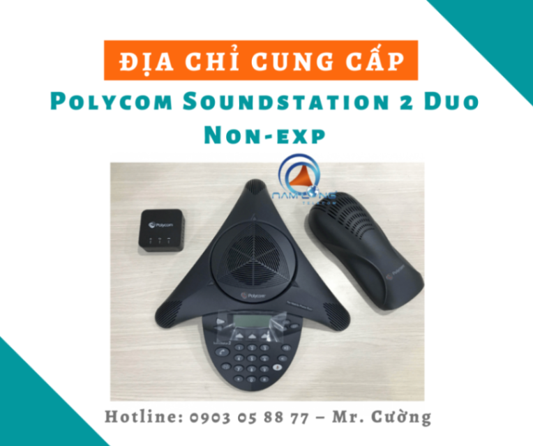 Polycom Soundstation 2 Duo Non-exp